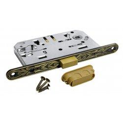 Spyna PZ su plokštele Morelli CLASSIC (magnetinė), sendintas žalvaris